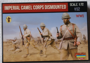 Strelets 1/72 STM123 Imperial Camel Corps Dismounted (WW1)